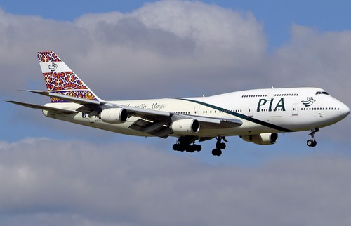 самолет Pakistan Airlines